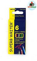 Цветные карандаши Marco Superb Writter mini, 6 цветов
