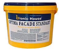 Optima Facade Standart. Акриловая водно-дисперсионная фасадная краска, краска для ремонтов и строительства