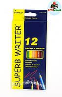 Цветные карандаши Marco Superb Writter, 12 цветов