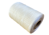 Нитка вощеная плоская по коже толщина 1мм цвет светло-бежевый бобина 500 метров, фото 6