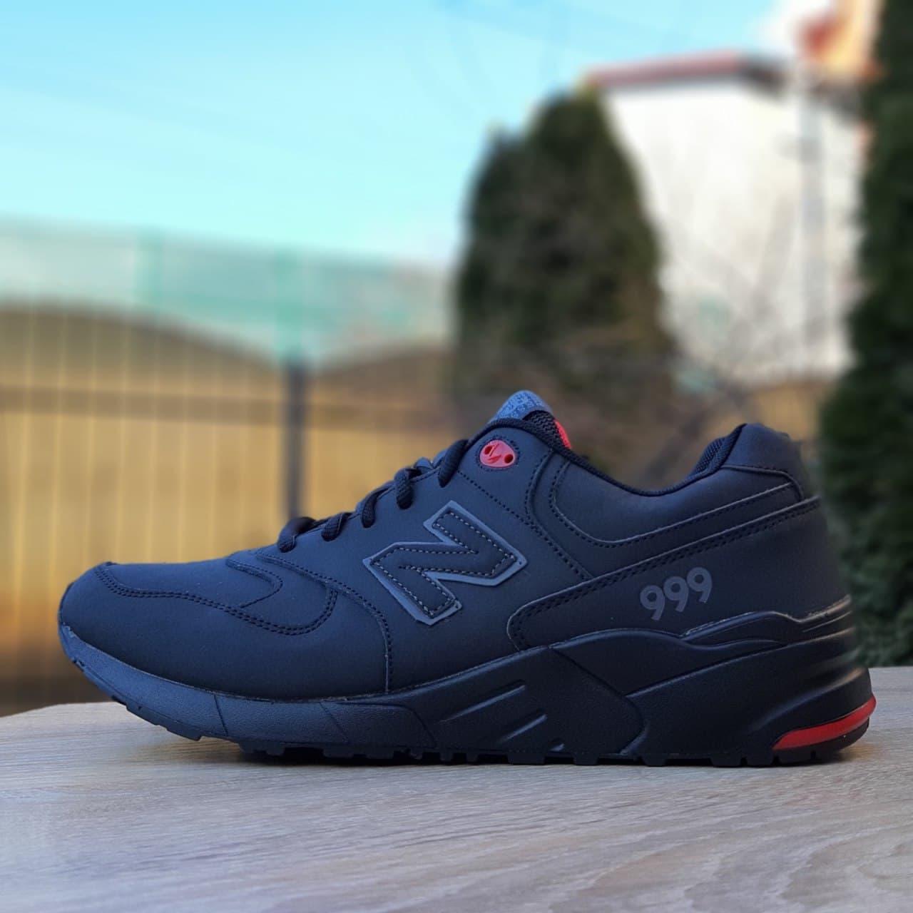 Кроссовки New  Balance 999 чёрные великаны 46 размер