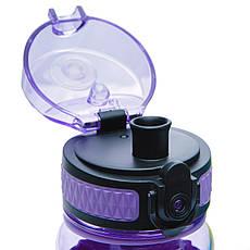 Фляга для води 450 мл Uzspace Diamond фіолетова (серія 5044), фото 3