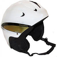 Шлем горнолыжный белый