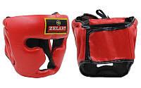 Шлем боксерский тренировочный Zelart