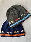 Тепла в'язана шапка для дівчинки, 1-3 року, фото 2