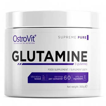Ostrovit Glutamine 300 грамм, Без вкуса