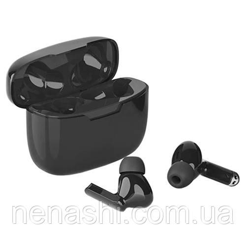 Бездротові bluetooth-навушники Y113 з кейсом, black