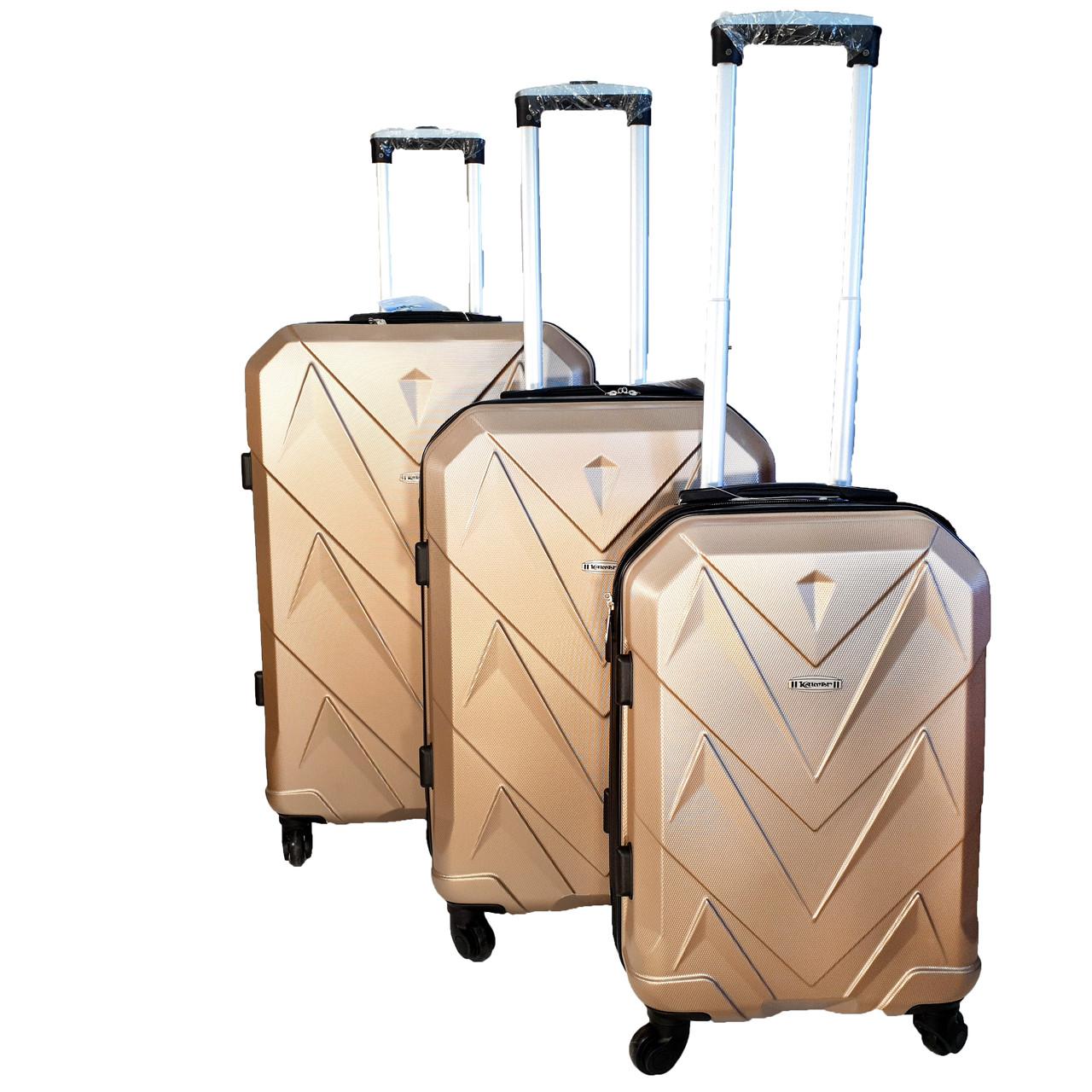 Комплект валіз, ABS+PC Kaiman