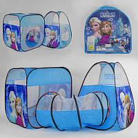 Палатка с туннелем Принцессы 8015 FZ-B/8015 FZ- (24/2) в сумке