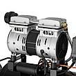 Компрессор Минск-24 БМ, 24л, 1.1 кВт, 220 В, 8 атм, 145 л/мин, малошумный, безмасляный, 2 цилиндра INTERTOOL, фото 2