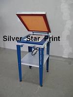 Шелкотрафаретный печатный станок с вакуумным прижимом