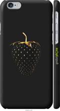 """Чохол Apple iPhone 6 Чорна полуниця """"3585c-45-2448"""""""