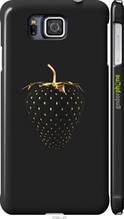 """Чехол на Samsung Galaxy Alpha G850F Черная клубника """"3585c-65-2448"""""""