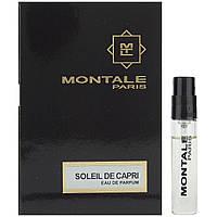 Пробник Montale Soleil de Capri 2 ml