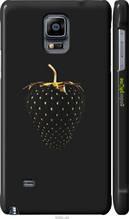 """Чохол на Samsung Galaxy Note 4 N910H Чорна полуниця """"3585c-64-2448"""""""