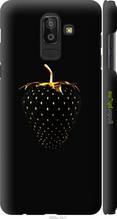 "Чохол на Samsung Galaxy J8 2018 Чорна полуниця ""3585c-1511-2448"""