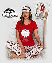 Пижама женская, короткий рукав Carla Mara