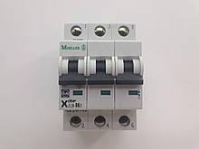Автоматический выключатель Moeller CLS6-B6/3, категория B, 6kA, In=6A, 3P, артикул 247700