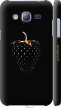 """Чохол на Samsung Galaxy J3 Duos (2016) J320H Чорна полуниця """"3585c-265-2448"""""""