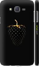 "Чохол на Samsung Galaxy J7 J700H Чорна полуниця ""3585c-101-2448"""