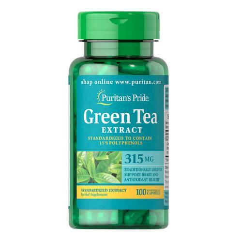 Puritan's Pride Green Tea Extract 315 mg 100 капсул