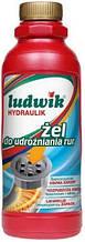 Ludwik гідравлік – гель для прочищення труб 1кг