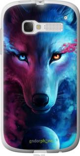 """Чехол на Alcatel One Touch Pop C5 5036D Арт-волк """"3999u-324-2448"""""""