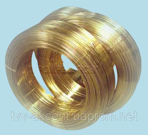 Проволока бронзовая БРКМЦ3-1, от 0,6 до 5 мм