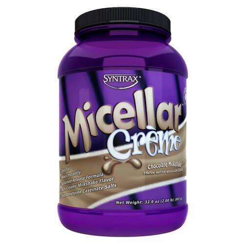 Купити протеїн, Syntrax Micellar Creme 907 грам, Полуничний мілкшейк