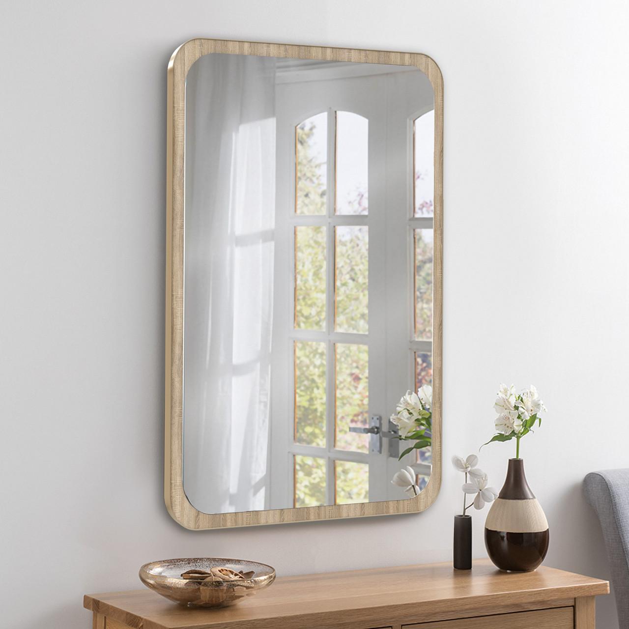 Зеркало 700х500 мм дуб сонома