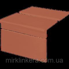 Клинкерная ступень King Klinker Римская рифленная комплект Ruby-red (01)