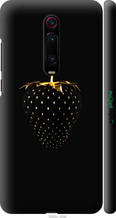 "Чехол на Xiaomi Mi 9T Pro Черная клубника ""3585c-1698-2448"""
