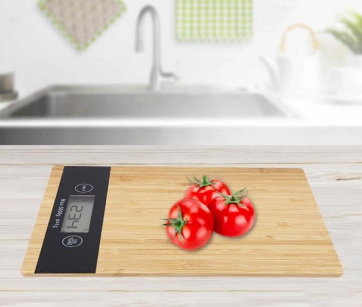 Ваги кухонні DOMOTEC MS-A Wood