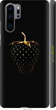 """Чехол на Huawei P30 Pro Черная клубника """"3585c-1621-2448"""""""