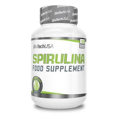 Спирулина, Biotech USA Spirulina 100 таб