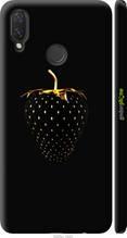 """Чохол на Huawei P Smart Plus Чорна полуниця """"3585c-1555-2448"""""""