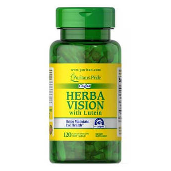 Puritan'sPride Herbavision with Lutein and Bilberry 120 капсул