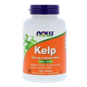 Now Foods Kelp 150 mcg 200 таб