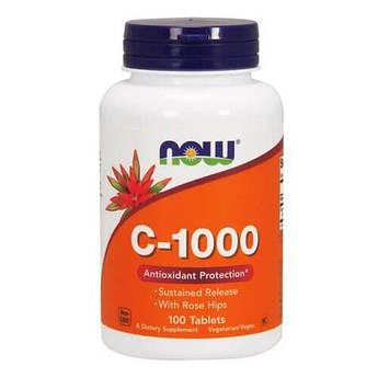Витамин С, NOW Vitamin C-1000 100 таб