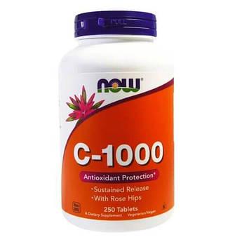 Витамин С, NOW Vitamin C-1000 250 таб