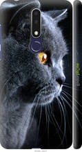 """Чохол Nokia 3.1 Plus Красивий кіт """"3038c-1607-2448"""""""