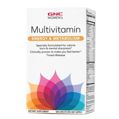 Витамины для женщин, GNC Women's Ultra Mega Energy & Metabolism 180 таб