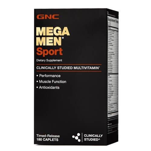 Витамины для мужчин, GNC Mega Men Sport 180 таб