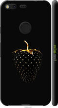 "Чехол на Google Pixel XL Черная клубника ""3585c-401-2448"""