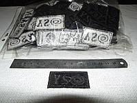 Декор вышивка клеевая 10 шт. (уп.)