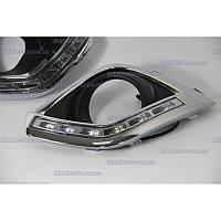 Неоновые дневные ходовые огни LED-DRL для Opel Antara 2012+