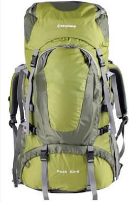 Рюкзак KingCamp Peak (KB3248) Green зеленый 60+5 л