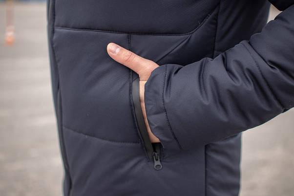 Куртка мужская зимняя синяя Glacier Intruder, фото 2