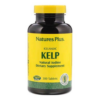 Nature's Plus Icelandic Kelp 300 таб