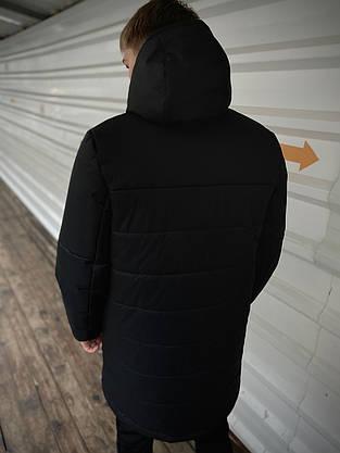 """Демисезонная Куртка """"Fusion"""" бренда Intruder (черная), фото 3"""